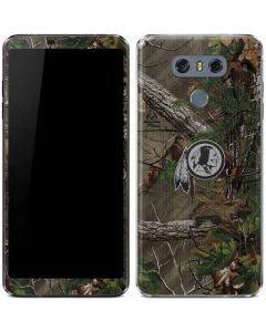 Washington Redskins Realtree Xtra Green Camo LG G6 Skin