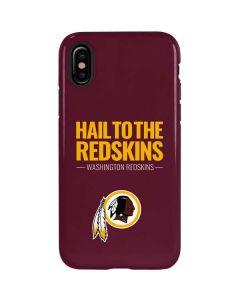 Washington Redskins Team Motto iPhone X Pro Case