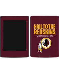 Washington Redskins Team Motto Amazon Kindle Skin