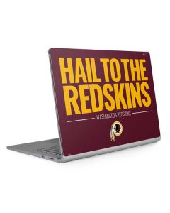 Washington Redskins Team Motto Surface Book 2 13.5in Skin