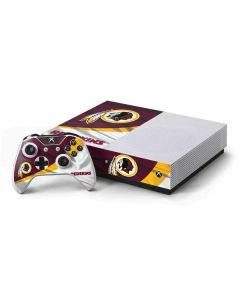 Washington Redskins Xbox One S Console and Controller Bundle Skin