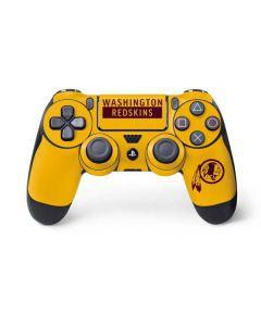 Washington Redskins Yellow Performance Series PS4 Controller Skin
