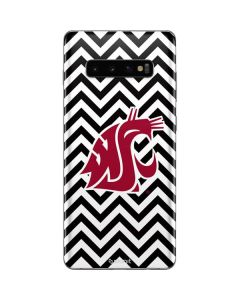 Washington State Chevron Print Galaxy S10 Plus Skin