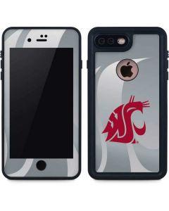 Washington State Cougars iPhone 8 Plus Waterproof Case