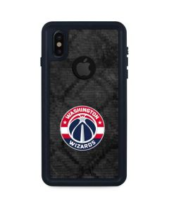 Washington Wizards Black Rust iPhone XS Waterproof Case