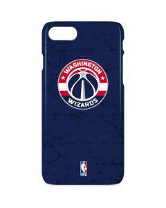 Washington Wizards Blue Distressed iPhone 8 Lite Case