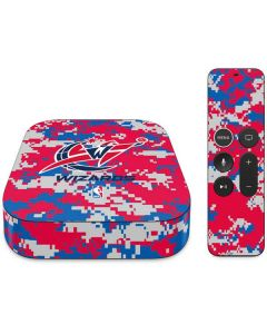 Washington Wizards Digi Camo Apple TV Skin