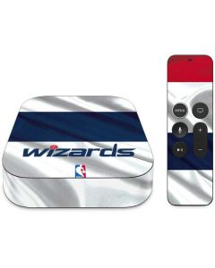 Washington Wizards Home Jersey Apple TV Skin