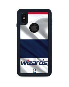 Washington Wizards Home Jersey iPhone XS Waterproof Case