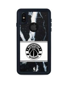 Washington Wizards Marble iPhone XS Waterproof Case