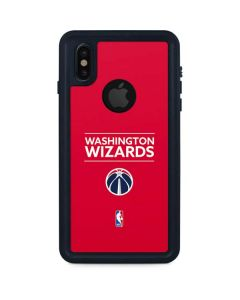 Washington Wizards Standard - Red iPhone XS Waterproof Case