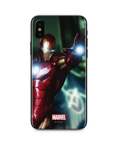 Watch out for Ironman iPhone XS Max Skin