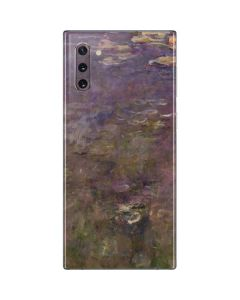 Water Lilies by Claude Monet Galaxy Note 10 Skin