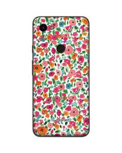 Watercolor Floral Google Pixel 3a Skin