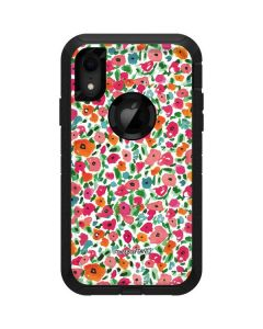 Watercolor Floral Otterbox Defender iPhone Skin