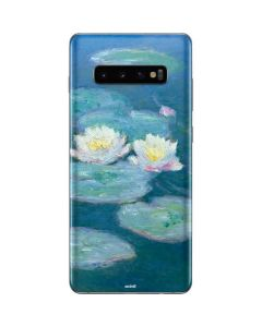 Waterlilies, Evening Galaxy S10 Plus Skin