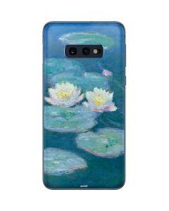 Waterlilies, Evening Galaxy S10e Skin