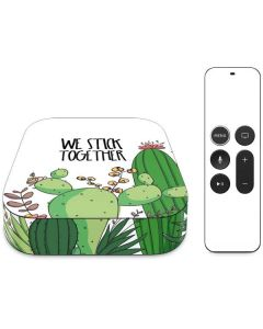 We Stick Together Apple TV Skin