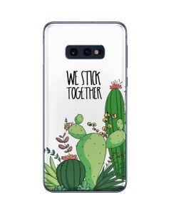 We Stick Together Galaxy S10e Skin