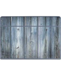 Weathered Blue Wood Galaxy Book Keyboard Folio 12in Skin