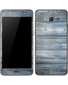 Weathered Blue Wood Galaxy Grand Prime Skin