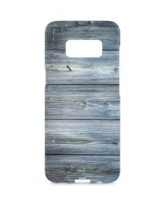 Weathered Blue Wood Galaxy S8 Plus Lite Case