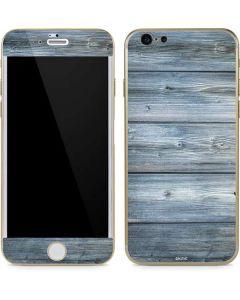 Weathered Blue Wood iPhone 6/6s Skin