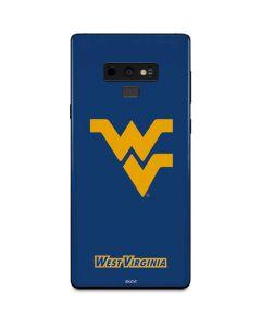 West Virginia Yellow Background Galaxy Note 9 Skin