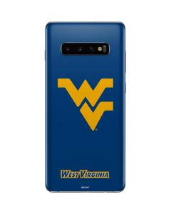 West Virginia Yellow Background Galaxy S10 Plus Skin