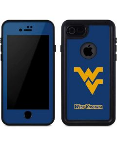 West Virginia Yellow Background iPhone 7 Waterproof Case