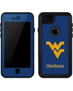 West Virginia Yellow Background iPhone 8 Waterproof Case