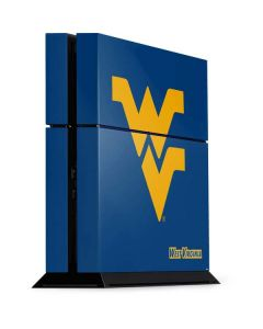 West Virginia Yellow Background PS4 Console Skin