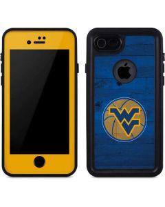 West Virginia Blue Wood Floor iPhone 8 Waterproof Case