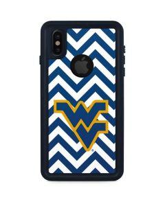 West Virginia Chevron iPhone X Waterproof Case