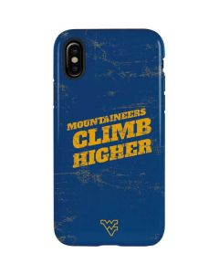 West Virginia Climb Higher iPhone X Pro Case