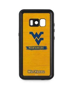 West Virginia Mountaineers Galaxy S8 Waterproof Case