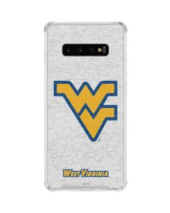 West Virginia Mountaineers Logo Galaxy S10 Plus Clear Case