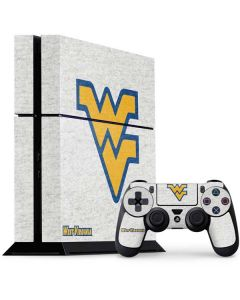 West Virginia Mountaineers Logo PS4 Console and Controller Bundle Skin