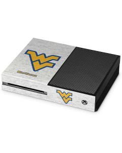 West Virginia Mountaineers Logo Xbox One Console Skin