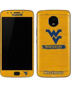 West Virginia Mountaineers Moto E4 Plus Skin