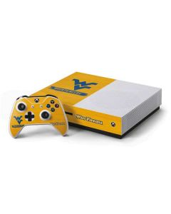 West Virginia Mountaineers Xbox One S Console and Controller Bundle Skin