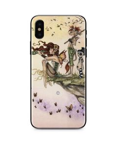 Where The Wind Takes You iPhone X Skin
