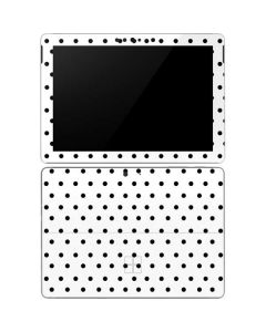 White and Black Polka Dots Surface Go Skin