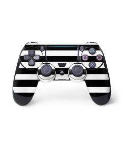 White and Black Stripes PS4 Pro/Slim Controller Skin