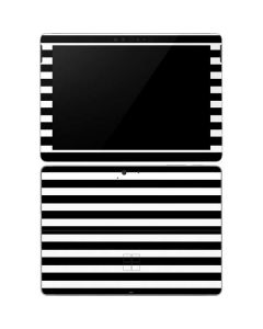 White and Black Stripes Surface Go Skin