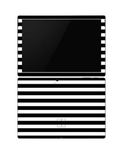 White and Black Stripes Surface Pro 6 Skin