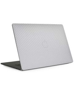 White Carbon Fiber Apple MacBook Pro 13-inch Skin