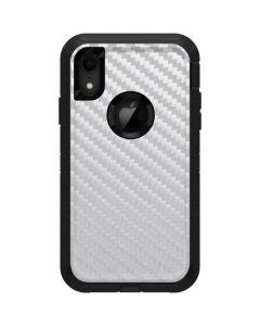 White Carbon Fiber Otterbox Defender iPhone Skin