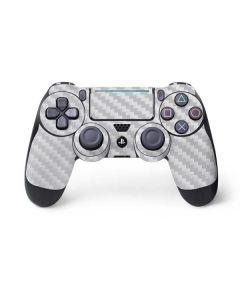 White Carbon Fiber PS4 Pro/Slim Controller Skin