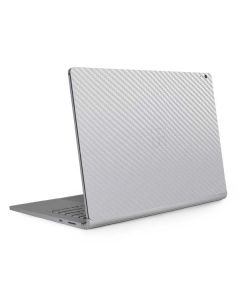 White Carbon Fiber Surface Book 2 15in Skin